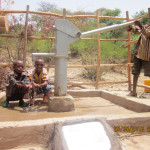 Our charity: water well